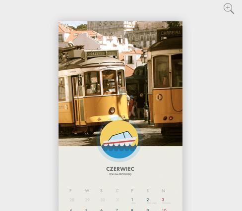 Łódź to miasto jak z pocztówki….. lub kalendarza